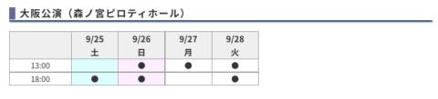 桐山照史赤シャツ東京大阪公演日程